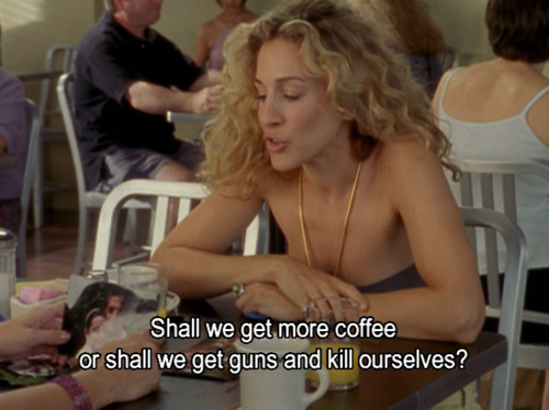 More coffee, please.